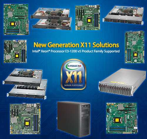 Supermicro X11 skylake solutions