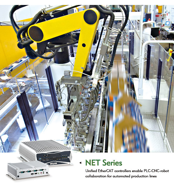 Smart EtherCAT Controllers For Modern Production Lines - EIM
