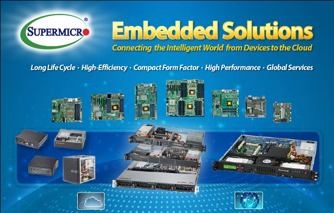 Supermicro embedded olutions