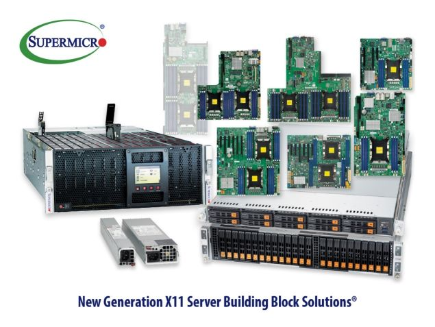 X11 Building blocks solutions
