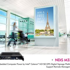 4K Digital Signage with OPS support