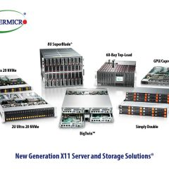 Next Generation of Supermicro X11 solutions