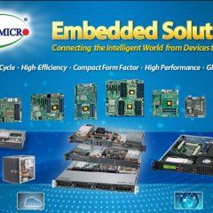 Supermicro 2016 Embedded Server/Storage line