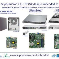 New Embedded Solutions Based On Intel Skylake