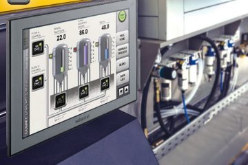 Industrial automation HMI Solution by JMobile Suite and X86-based Panel PC