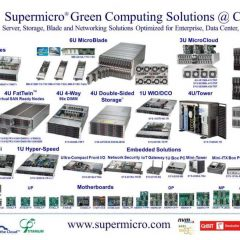 Supermicro-  Higher density and efficiency without compromising on performance