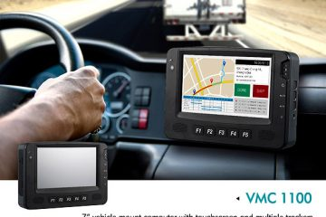 Rugged Vehicle Mount Computer Ideal for fleet monitor