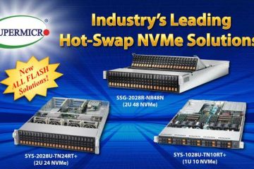 The Largest portfolio of NVMe solutions now at EIM